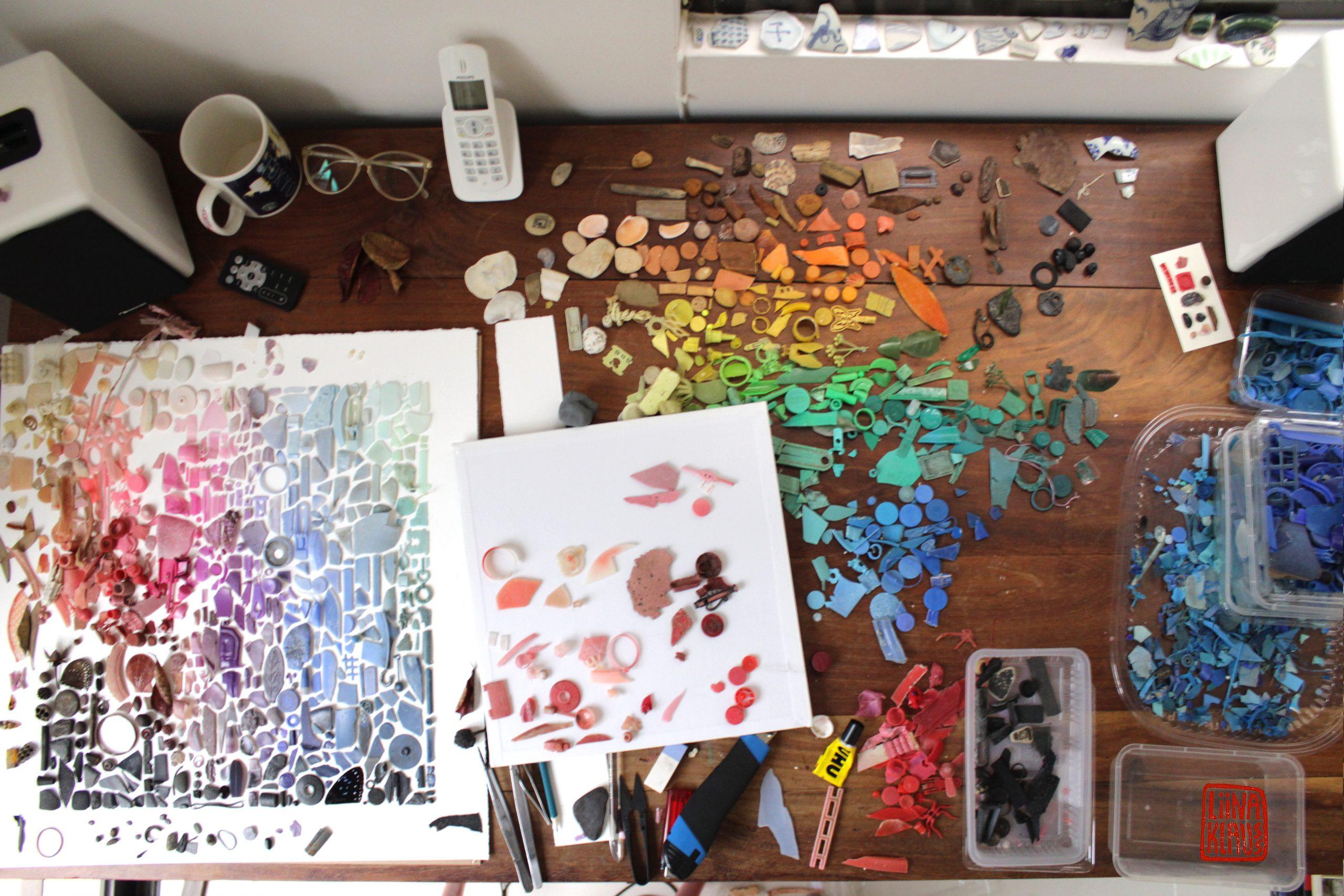 broken dreams no.1- liinaklauss2013-my desk